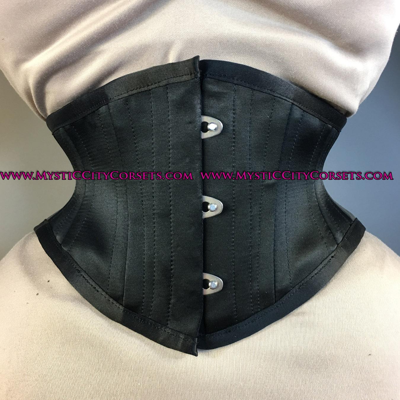 NEW Black  Waisttraining Tightlacing Fitness Sports Trainer Mesh Corset Steel Bone Underbust